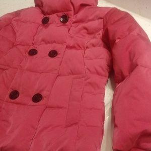 Lands' End M S-6 Pink Jacket